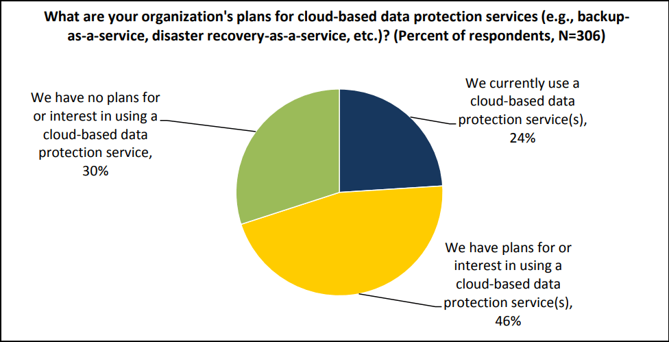Cloud data protection services for business