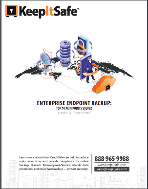 Enterprise Endpoint Backup Top Pain Points Solved