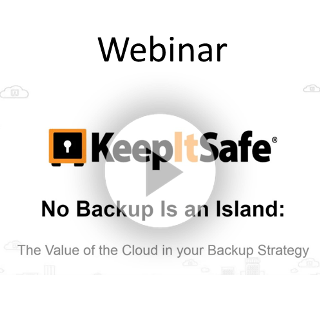 No Backup Is an Island: The Value of the Cloud in your Backup Strategy